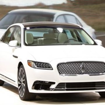 The 2017 Lincoln Continental is unveiled at the North American International Auto Show in Detroit
