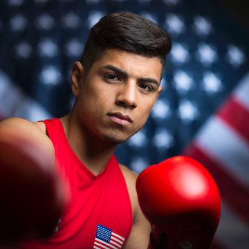 US Olympic Athlete Carlos Balderas