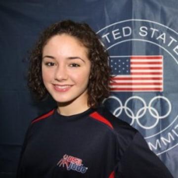 U.S. Judo Olympian Angelica Delgado