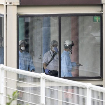 Image: Aftermath of stabbing attack in Japan