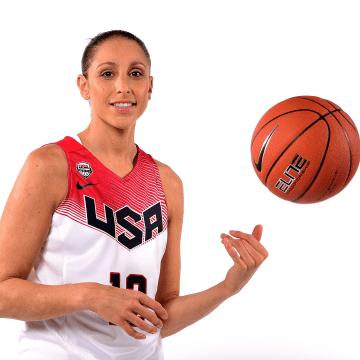 Basketball Player Diana Taurasi - Rio2016