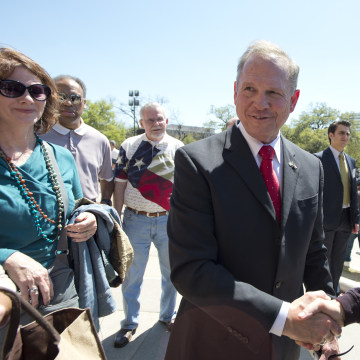 Alabama Chief Justice Roy Moore in Texas