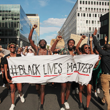 Image: Black Lives Matter Demonstration in Berlin