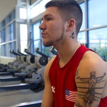 Team USA Boxer, Nico Hernandez