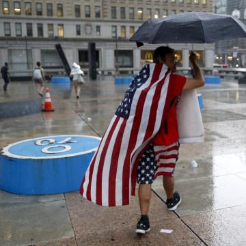 IMAGE: Rain in Philadelphia