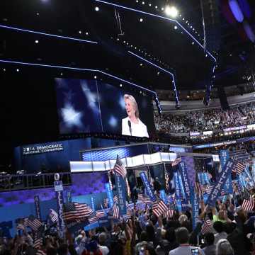 Image: Democratic National Convention: Day Four