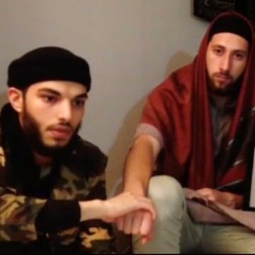 Image: Adel Kermiche and Abdel-Malik Nabil Petitjean