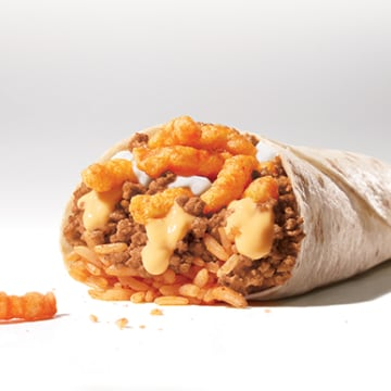 Cheetos Burrito