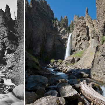 Image: Yellowstone's Tower Falls