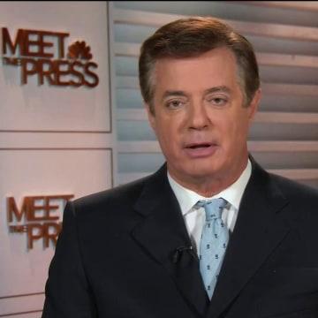PAUL MANAFORT ON NBC'S MEET THE PRESS
