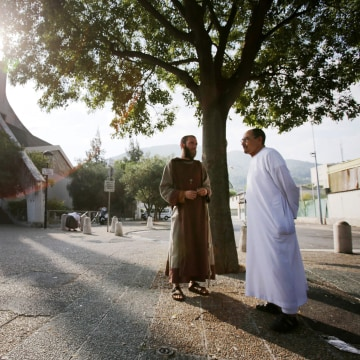 Image: TOPSHOT-FRANCE-ATTACK-CHURCH-RELIGION