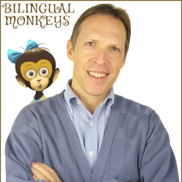 Adam Beck, based in Hiroshima, Japan, blogs at BilingualMonkeys