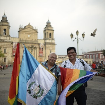 International Day Against Homophobia & Transphobia in Guatemala City