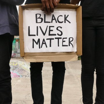 Black Lives Matter Rally in Sheffield