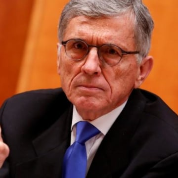 Federal Communications Commission Chairman Tom Wheeler speaks at the FCC Net Neutrality hearing in Washington