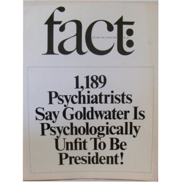 Fact magazine, 1964