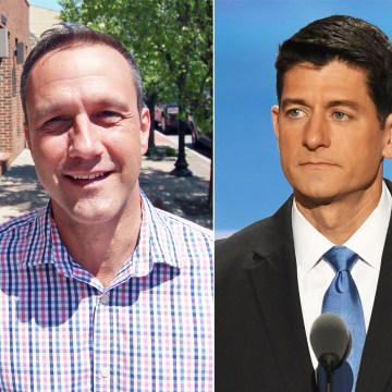 IMAGE: Donald Trump, Paul Nehlen, Paul Ryan