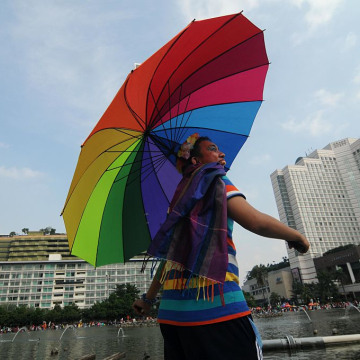 LGBT March in Indonesia