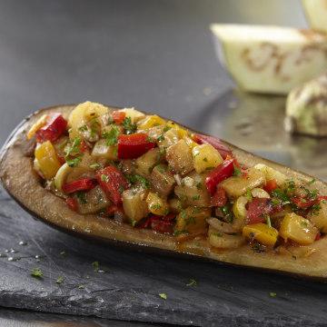 Eggplant antipasto by Jacqueline Kleis