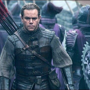 "Matt Damon in upcoming film ""The Great Wall."""