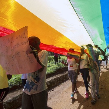 UGANDA-GAY-DEMONSTRATION-RIGHTS