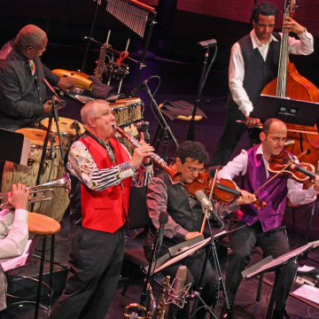 """Paquito D'Rivera: Around the Americas"" at Rose Theater on Friday night, March 27, 2015."