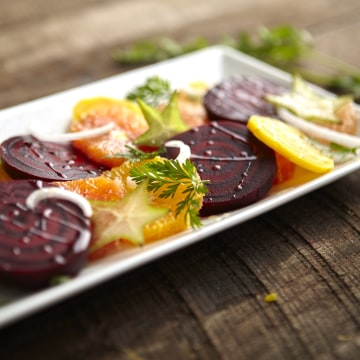 Beet and Orange Salad recipe by Jacqueline Kleis.