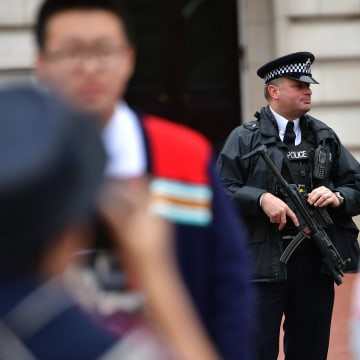 Image: Armed Security Services Patrol Central London
