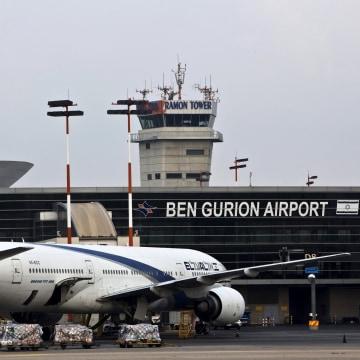 Image: File photo of an EL AL aircraft at Ben Gurion International Airport near Tel Aviv, Israel