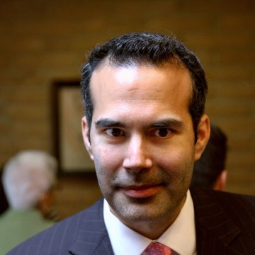 George P. Bush makes a campaign stop in El Paso, Texas, on Monday, March 3, 2014.