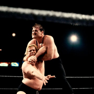 Sergeant Slaughter Wrestling Pat Patterson