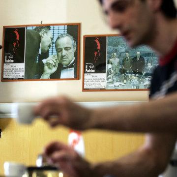 Image: Bar in Corleone, Italy, in 2006