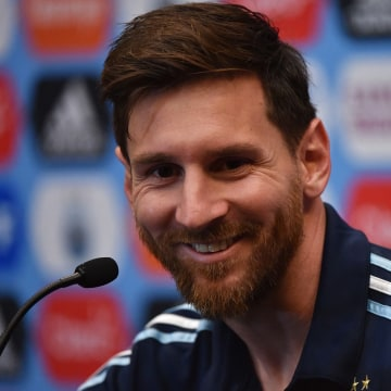 Lionel Messi - Argentina Press Conference