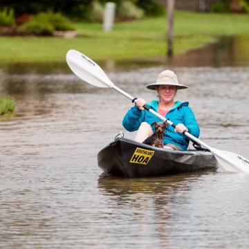 IMAGE: Youngsville, La., flooding