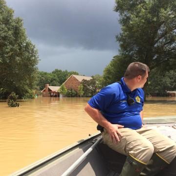 IMAGE: Rapides Parish flooding