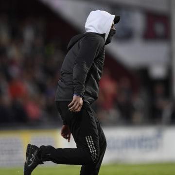 Image: Swedish football attack