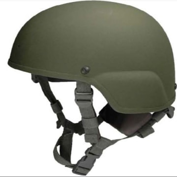 Image: US-DEFENSE-HELMETS-COMBAT-PRISON-LABOR-FRAUD