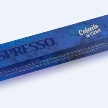 """Nestle Nespresso """"Cafecito de Cuba"""" coffee pods."""