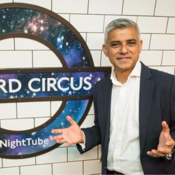Image: London's new mayor Sadiq Khan says the change will boost London's economy.