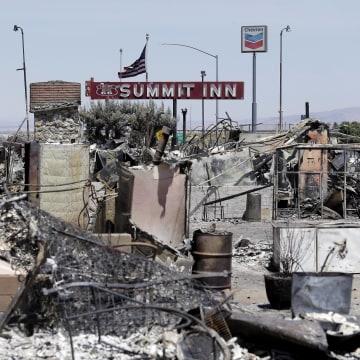 Image: Blue Cut fire destruction near Los Angeles