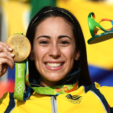 Mariana Pajon of Colombia -  Gold Medal Cycling