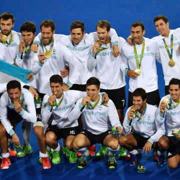 Argentina's Men's Field Hockey Team Win's Gold