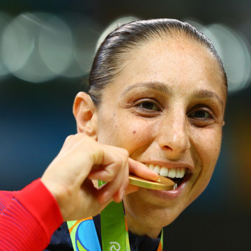 Diana Taurasi Win's Gold - Women's Basketball