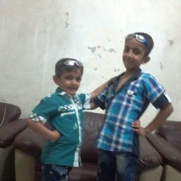 Image: Obeida and Mohammad Abuljud