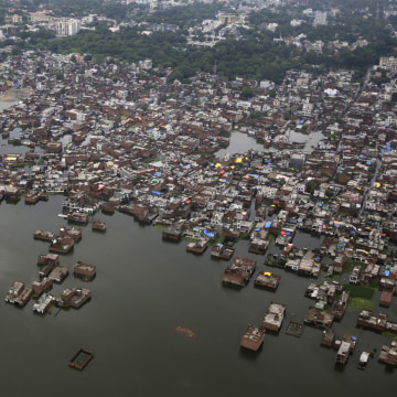 IMAGE: Flooding in India