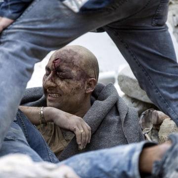 Image: Italy earthquake rescue