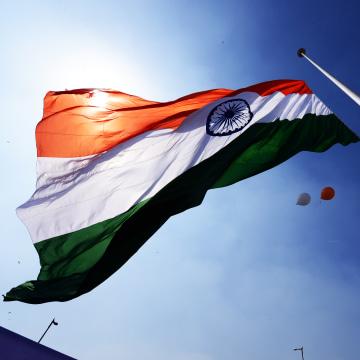 Delhi's Highest Monumental Flagpole Hoisted At Rajiv Chowk