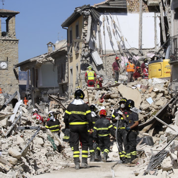 IMAGE: Amatrice, Italy, earthquake damage