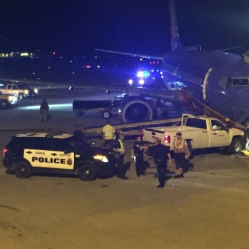 Image: Southwest Airlines jet in Omaha