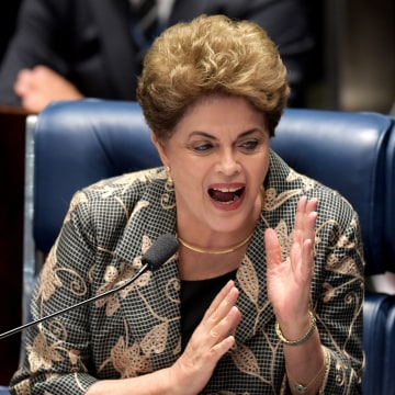 Image: BRAZIL-IMPEACHMENT-TRIAL-ROUSSEFF